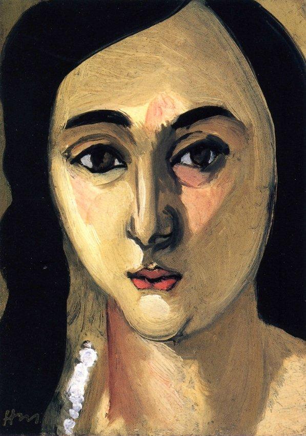 Henri Matisse-Lorette's Head, 1916-17.jpg