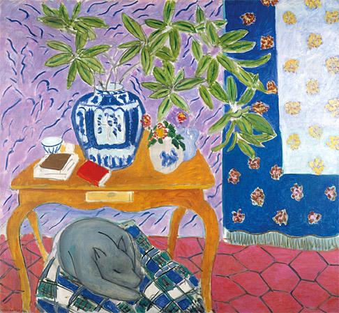 Interior con perro, de Henri Matisse